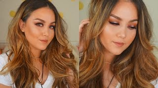 Warm Smoky Eye Makeup Tutorial by Danna Ann