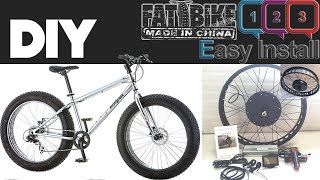 This video goes over the installation of the REAR HUB FAT EBIKE KIT on my MONGOOSE MALUSThe install was simple at least getting the motor on the bike and such, I have had a few issues to solve along the way to completing the install and I also have videos on these and the solutions I have found that will be uploaded soonSome issues like ERROR CODE 1 & 6, Throttle issues, Motor Cut-Off and a few other things that I have had to fix or modify. More to come late in some other videos...Thanks for watching