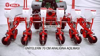 Hydraulic Shifting & Foldable Pneumatic Precision Planters