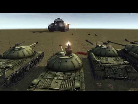 RATTE P1000 VS Red army | Men Of War Assault Squad 2