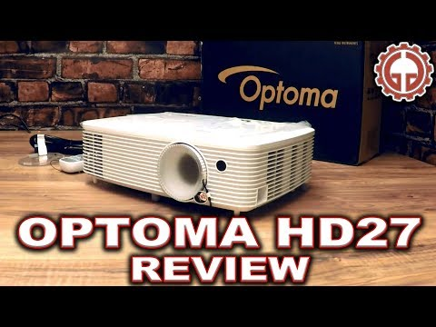 Optoma HD27 UNBOX & DEMO Full HD DLP Home Theater Projector