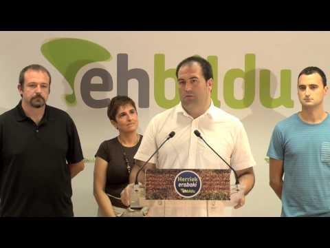Valoración de la delegación de EH Bildu en la Diada de Catalunya