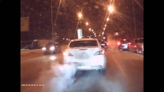 Car Accident On Crossroad January 2015