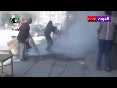 قوات النظام السوري حرقت الجثث وألقتها في الشوارع