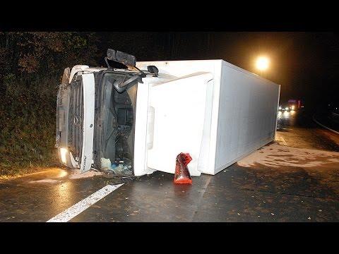 Lkw-Unfall in der Hessensteinkurve