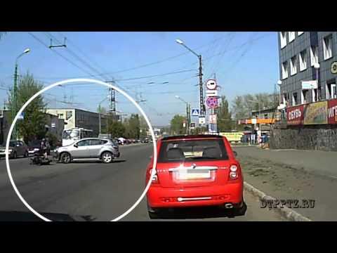 Авария со скутером в Петрозаводске