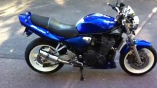 4. 2005 Suzuki GSF 1200 Bandit Walk around Engine start and Revving
