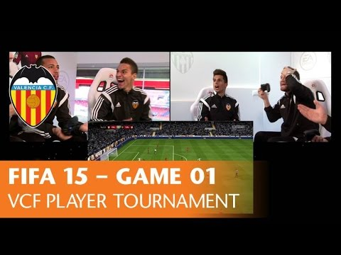 FIFA 15 - VALENCIA CF PLAYER TOURNAMENT - GAME 01 Mustafi/Cancelo vs Rodrigo/Vezo