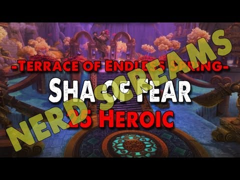 Method vs Sha of Fear (25 Heroic) World First Nerd Screams Video