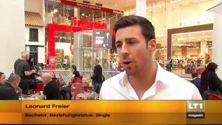 Bachelor Leonard Freier beim Elite Models Casting Linz