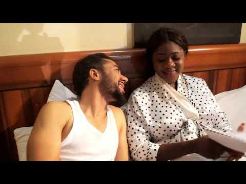 Mercy Johnson and Magid michel. -BLIND SPOT- new nollywood movie