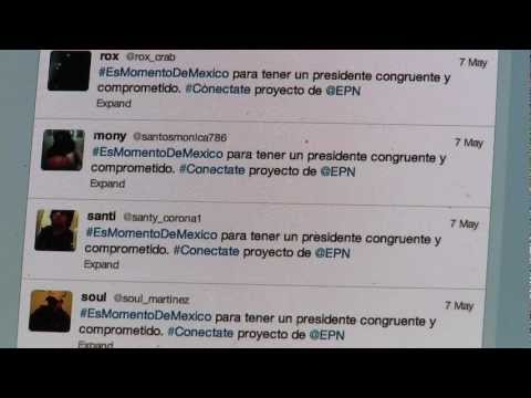 Twitter becomes key battleground in Mexican election
