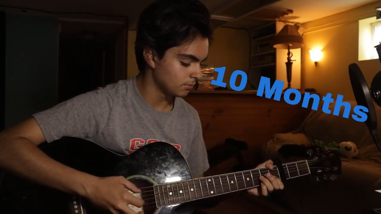 My 1 Year Guitar Progress (Through Online Lessons)