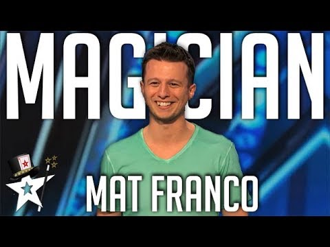 Mat Franco's First Audition on America's Got Talent | Magician's Got Talent (видео)