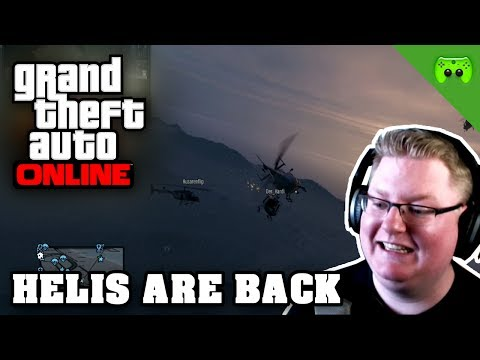 GTA ONLINE # 55 - Helis are back «» Let's Play Grand Theft Auto Online | HD
