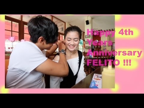 Felicya Angellista #vlog - Happy 4th Years Anniversary Felito !