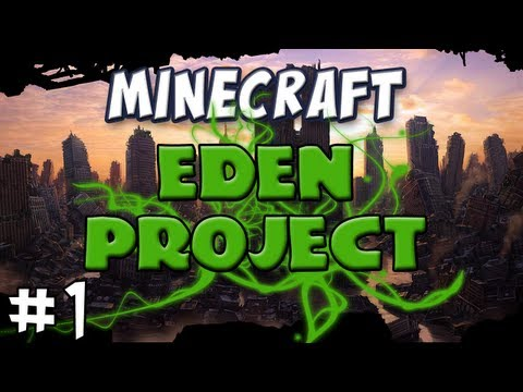 Minecraft - The EDEN Project, Part 1 - Insanity Maze