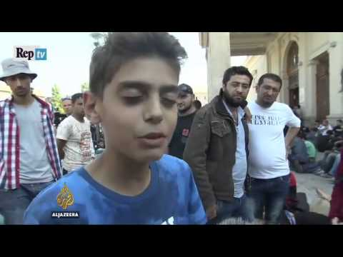 """bambino siriano dice:"""" fermate la guerra e noi non fuggiremo in europa""""!"""