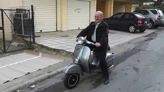 9. The Vespa surprise to my dad