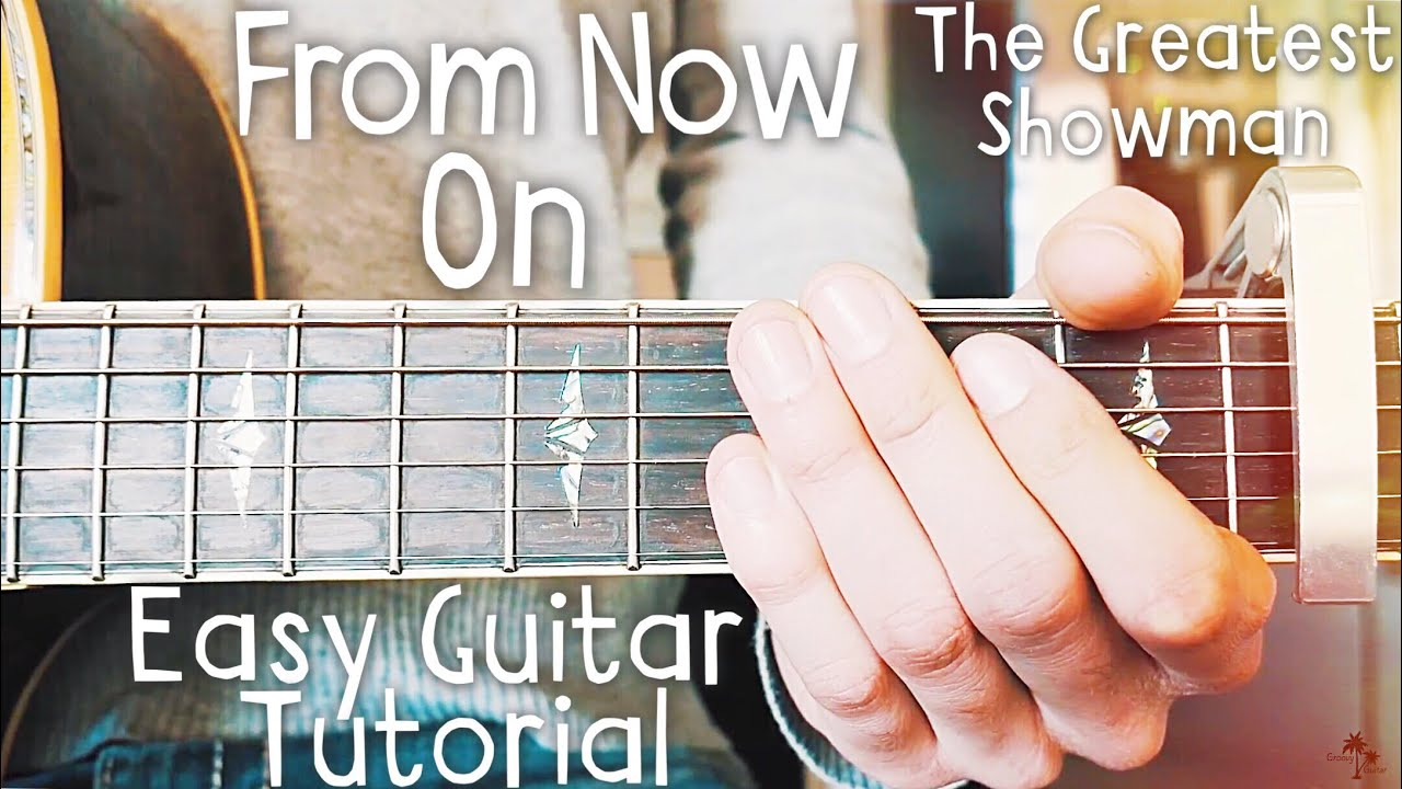Never Enough The Greatest Showman Guitar Lesson For Beginners // Never Enough Guitar // Lesson #453