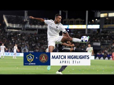 Video: HIGHLIGHTS: LA Galaxy vs. Atlanta United FC | April 21, 2018