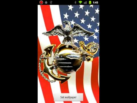 Video of Marine Corps Live Wallpapers