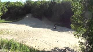8. 2012 Kawasaki Mule 4010 Trans 4x4 Can't Climb!