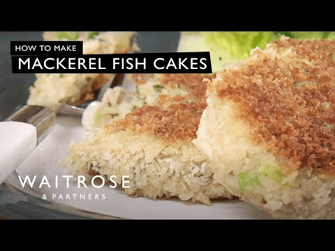 Mackerel fish cakes recipe – Waitrose