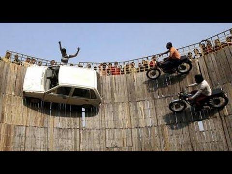 Video India's Amazing Talent  bike ride in well.. मौत का कुंवा कमजोर दिल वाले ना देंखे .... download in MP3, 3GP, MP4, WEBM, AVI, FLV January 2017