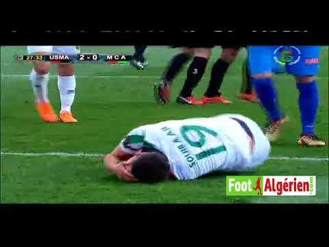 УСМ Алжир - МК Алжир 2:2. Видеообзор матча 24.02.2018. Видео голов и опасных моментов игры