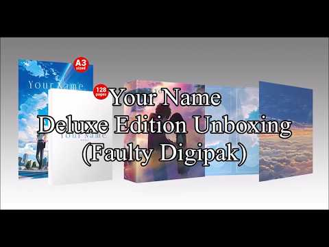 Your Name/Kimi no Na wa - Deluxe Edition Unboxing