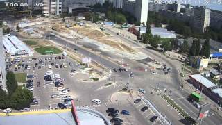 "Triolan.Live - Харьков, станция метро ""Победа"" (02-08-2015)"