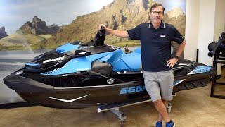 4. The NEW 2018 Sea-Doo RXT-X 300 Personal Watercraft Overview Summary Review