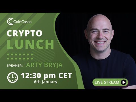 Bitcoin Is back Up Again - Crypto Lunch with Arty Episode 19