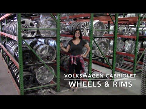 Factory Original Volkswagen Cabriolet Wheels & Volkswagen Cabriolet Rims – OriginalWheels.com