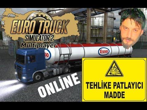 Euro - Euro truck simulator 2'nin türkçe online multiplayer modunda bülbül tv'den sarp ile birlikte tankerlerle yola düşüyoruz.. iyi seyirler..
