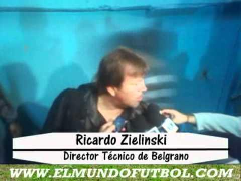 Zielinski habla de la victoria de Belgrano a Unión