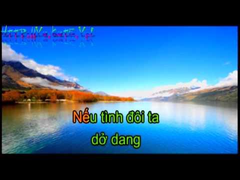 Hát karaoke bài hát Em Về kẻo trời mưa beat