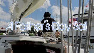 A Father\'s Day Sail. Norwalk, CT