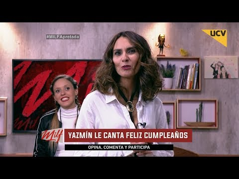 video Yazmín canta