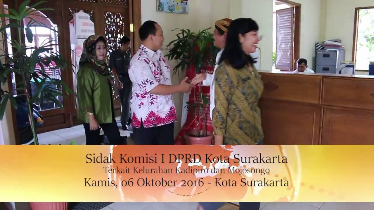 Kamis 06 Oktober 2016 Sidak Komisi I