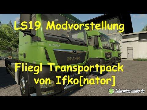Transporte de Fliegl Pack v1.0.0.1