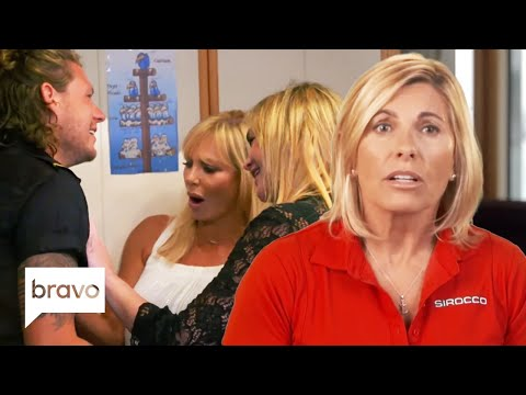"""Captain Sandy Yawn Tells Guests Not to """"Molest"""" Jack Stirrup 