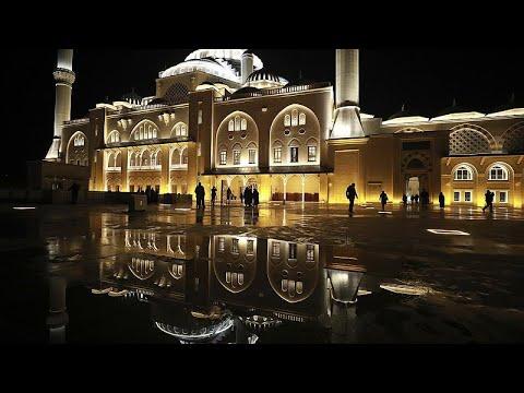 Τουρκία: Άνοιξε το μεγαλύτερο τζαμί