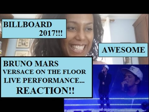 Versace on The Floor - Bruno Mars LIVE at BILLBOARD AWARDS 2017 [REACTION]