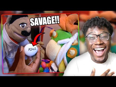 BOWSER JR. GETS A MAGIC WISH!   SML Movie: The Golden Egg Reaction!