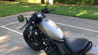 10. New motorcycle rider 2018 Honda Rebel 500 thoughts