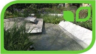 Der Waterscape Garden von Hugo Bugg präsentiert von Sabine Reber (Chelsea 2014)