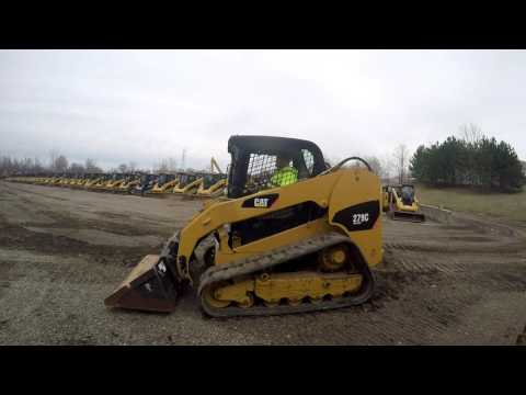 CATERPILLAR CARGADORES MULTITERRENO 279C equipment video XGpzTG7tRPg
