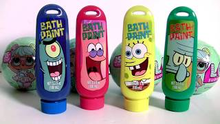 Video LOL Bath Paint Surprise with Peppa Pig Learn Colors LOL Lil Outrageous Littles Lil Sisters Series 2 MP3, 3GP, MP4, WEBM, AVI, FLV Oktober 2017